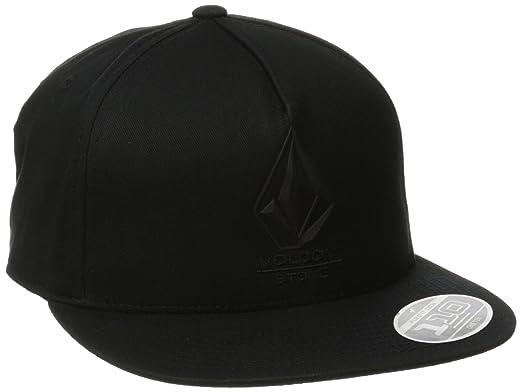 Volcom Bevel 110 Adj Hat - Gorra para Hombre, Color Negro, Talla ...