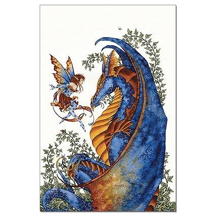 amazon com tree free greetings econotes 12 count curiosity dragon