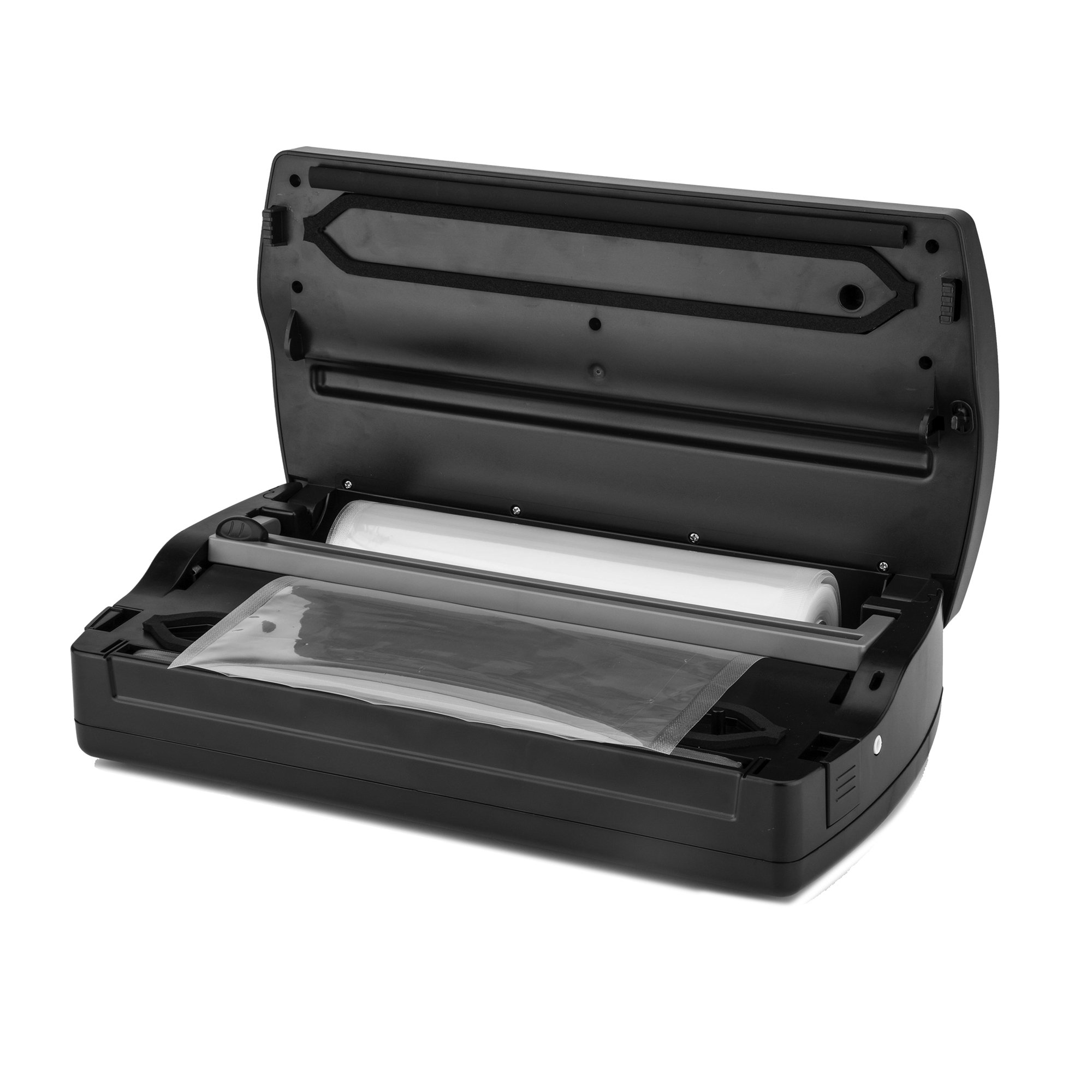 Excalibur EHVR12 Dual Pump Vacuum Sealer with Built-in Roll Holder Features Two Vacuum Modes and Time Settings with Pulse Function, 12-Inch, Black by Excalibur (Image #2)