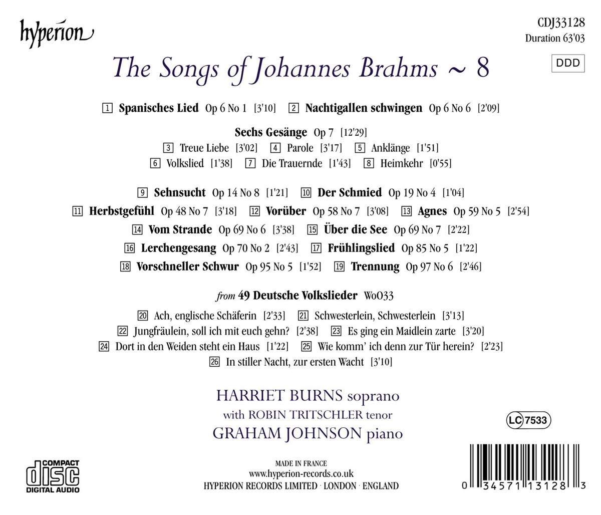 Deutsche Volkslieder, No. 22, Dort in den Weiden
