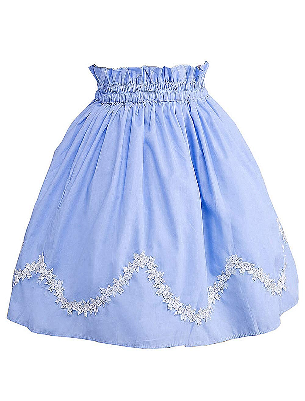 Antaina Azul Volantes Encaje Cute Kawaii Retro Victoriana Lolita ...