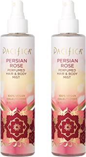 product image for Pacifica Perfumed Hair and Body Mist Persian Rose, 6 Fl Oz (Pack of 2)