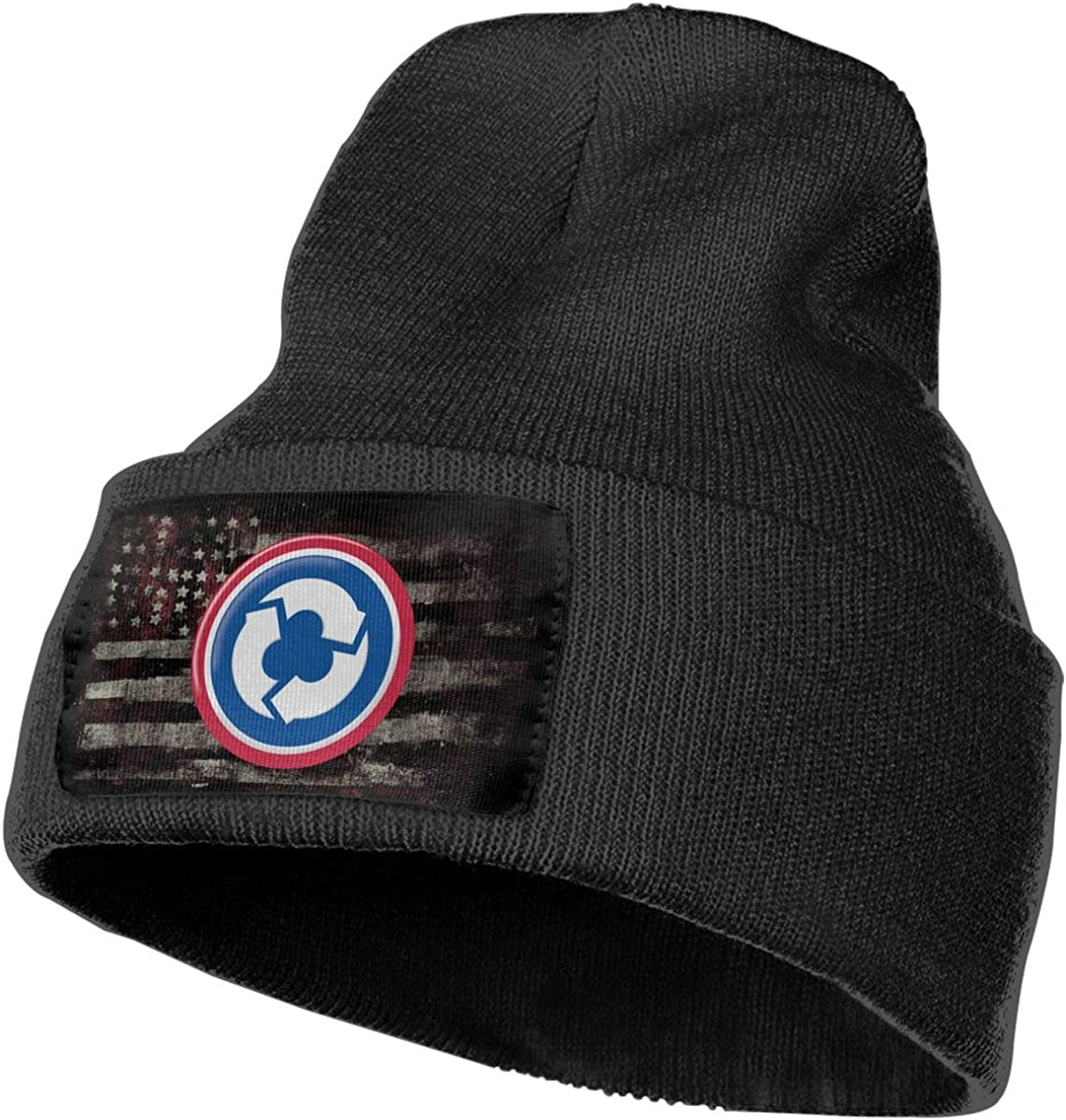 US Army 311th Support Command Mens Beanie Cap Skull Cap Winter Warm Knitting Hats.
