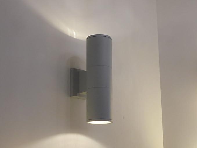 Plafoniere Da Muro Design : Applique lampada da parete per esterno moderno illuminazione