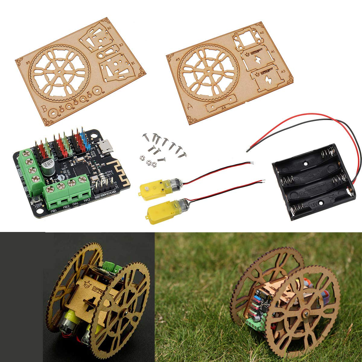 FlameWheel Remote Control Smart Robot Kit for Support iOS App