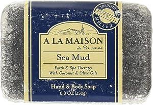 A LA MAISON Bar Soap, Sea Mud