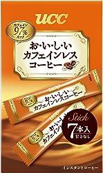 UCC おいしいカフェインレスコーヒー スティックコーヒー (7P×6袋) 42杯