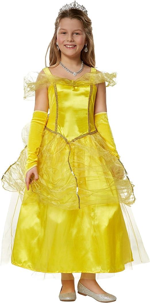 dressforfun 900349 Disfraz para chica Princesa Belle, Precioso ...