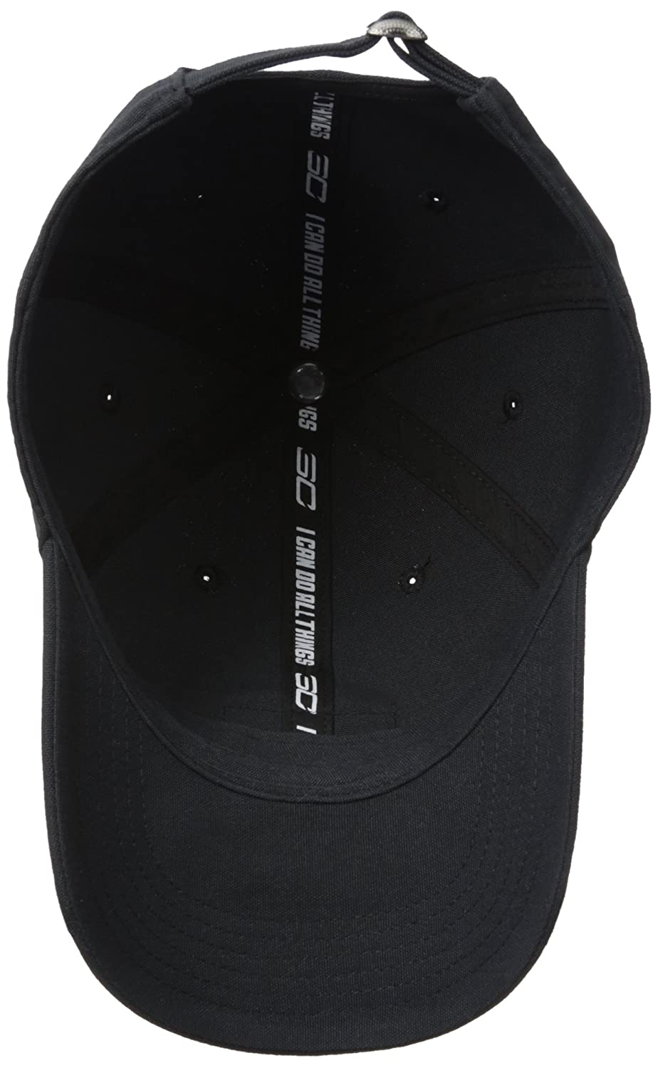 Under Armour Boys SC30 Dad Cap Black  (001 )  White One Size Under Armour  Accessories 1311433 18a7e0e271a