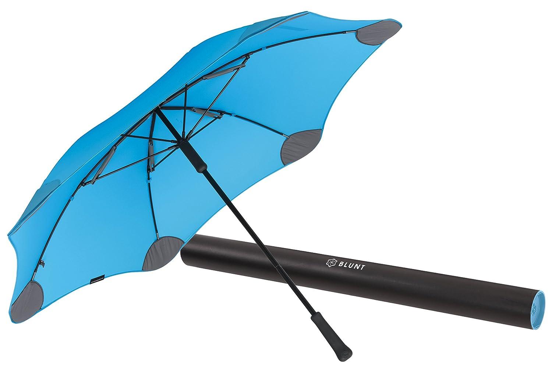 【正規輸入品】 ブラント クラッシック 全5色 長傘 手開き ブルー 6本骨 65cm グラスファイバー骨 耐風傘 A2456-74 B009O0DGZIブルー