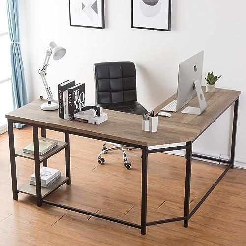 Reviewed: Furnichoi L-Shaped Computer Desk