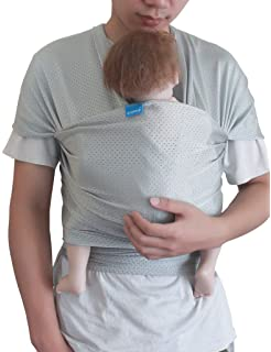 Baby Wrap Carrier Lightweight Stretchy Breathable Baby Wraps With