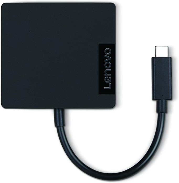 Lenovo USB C Travel  Hub, Black GX90M61235