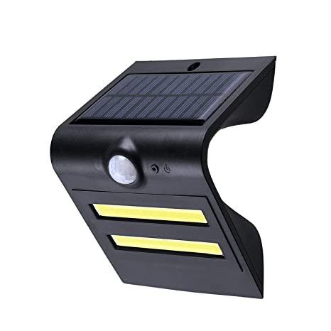 YOUKOYI Lamparas Solares LED Con Detector de Movimiento Luces Solares para Jardin, COB LED Tecnología