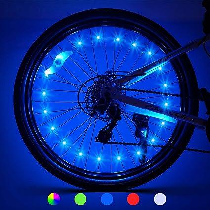 BIKE BICYCLE CYCLING WHEEL SPOKE TYRE LED FLASH LIGHT