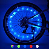 LET'S GO! 2-Tire Pack LED Bike Wheel Lights with Batteries Included, Bike Spoke Lights Waterproof Bright Bicycle Light…