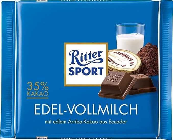 Ritter Sport 100g Leche Precious