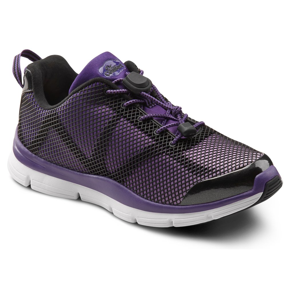 Dr. Comfort Katy Womens Sneaker B00L2OEBLC -8.0 Medium (A-B) Purple Lace US Woman|Purple