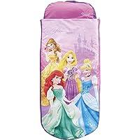 Matelas gonflable et sac de couchage prêt-à-l'emploi Princesses Disney