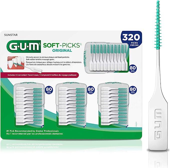 GUM Soft-Picks Original Dental Picks, 320 Count: Amazon.ca: Beauty