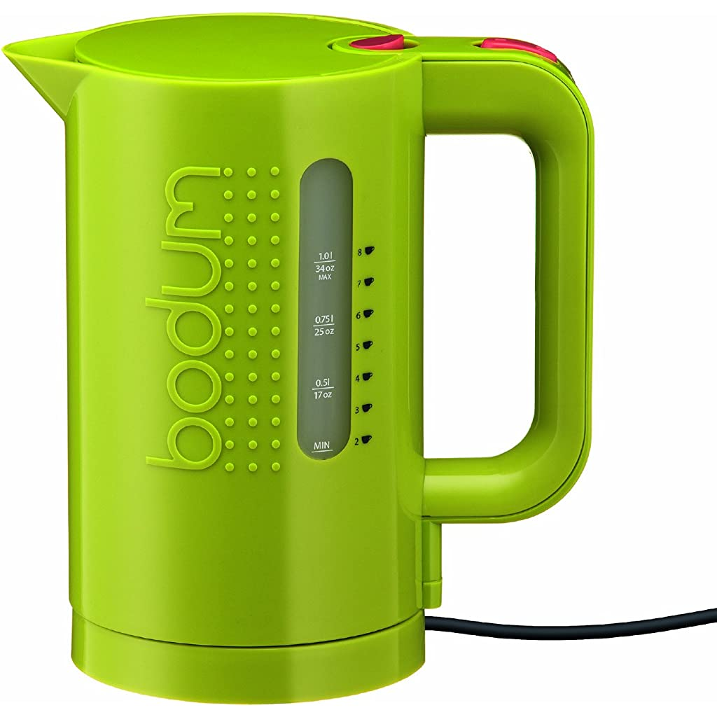 Bodum Bistro 1L Electric Kettle - Lime Green