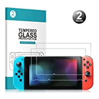 Nintendo Switch Screen Protector- Younik 0.25mm/9H Premium Tempered Glass Screen Protector for Nintendo Switch (2 Packs)