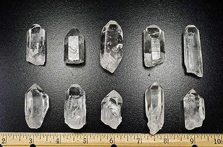 joyer/ía primas naturales stonesire de envolver cab # 2:a//b grado corte Hypnotic Gems Materiales: 10 pcsa//b puntas de cuarzo grado 1 a 1.5
