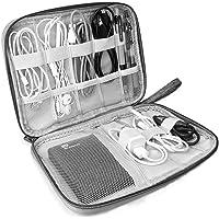 Lazz1on Accesorios Electrónicos Bolsa De Viaje Organizador de Cables para Unidad USB Cargador de teléfono Auricular…