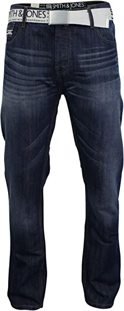 TALLA 32W / 34L. Smith & Jones - Vaquero - para Hombre