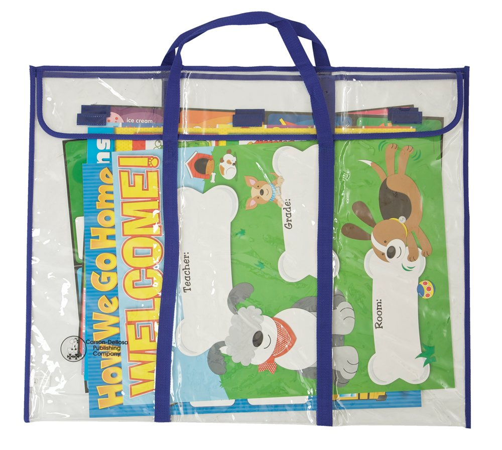 Carson Dellosa Bulletin Board Storage Bag (5638) Carson-Dellosa Publishing Incorporated Classroom Management Education