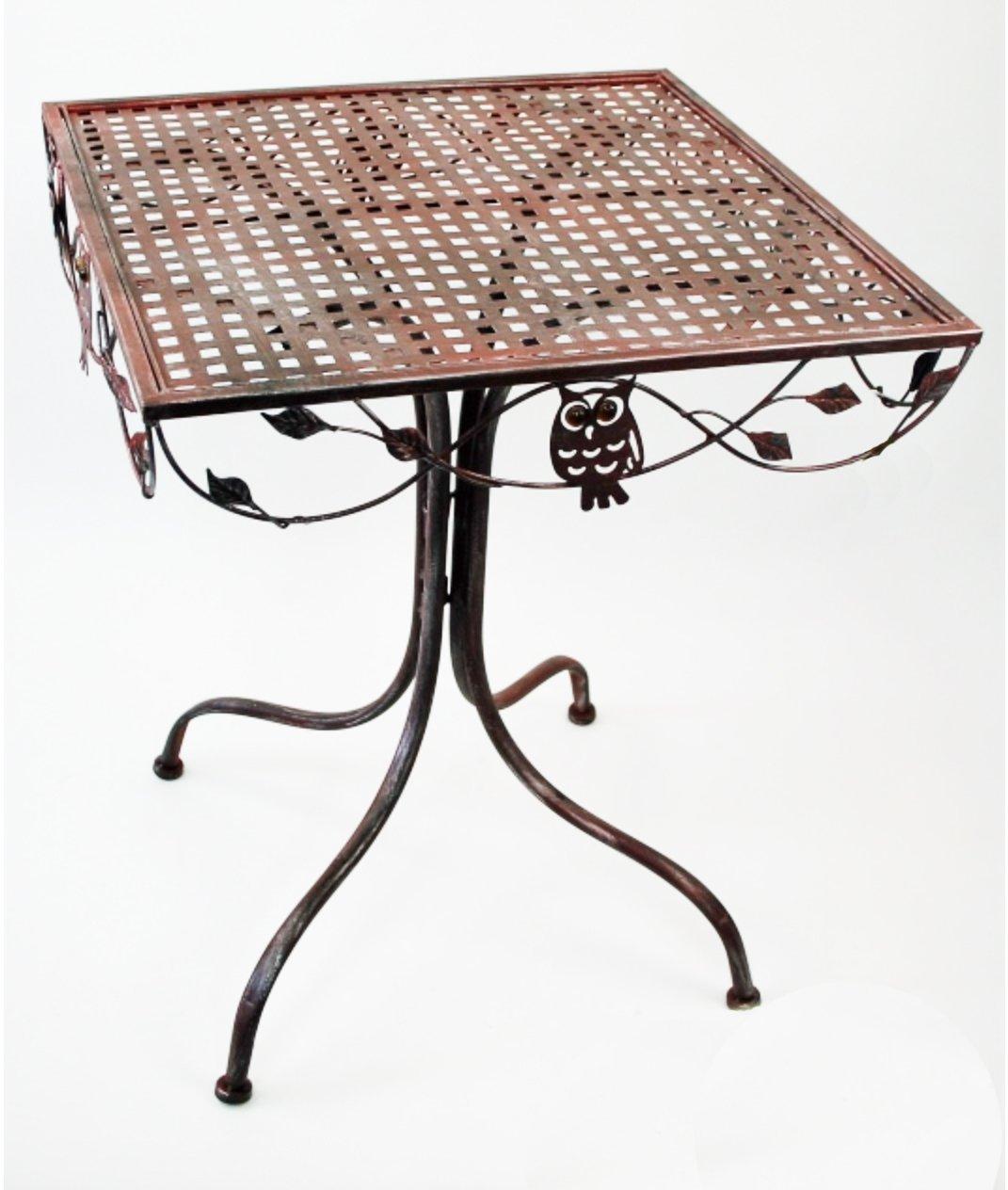 Gartentisch Gartensets Tischgruppe Metall Metalltisch Bistrostuhl
