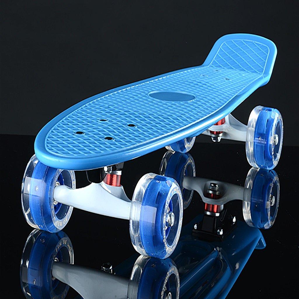 YONGLIANG YONGLIANG アウトドアスポーツビッグフィッシュボードバナナボードシングルアップトゥスケートボードロードブラシストリートラージホイールスケートボードチャイルドアダルトスクータースクーター B07BQL1YMX B07BQL1YMX 青 青 青, ナガワマチ:8c024fa1 --- integralved.hu