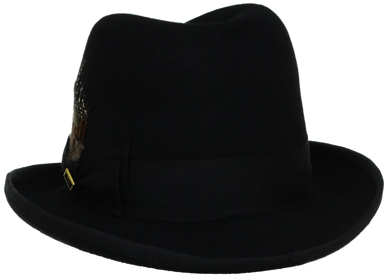 Stacy Adams Men s Homburg at Amazon Men s Clothing store  Homburg Hat c716685d7842