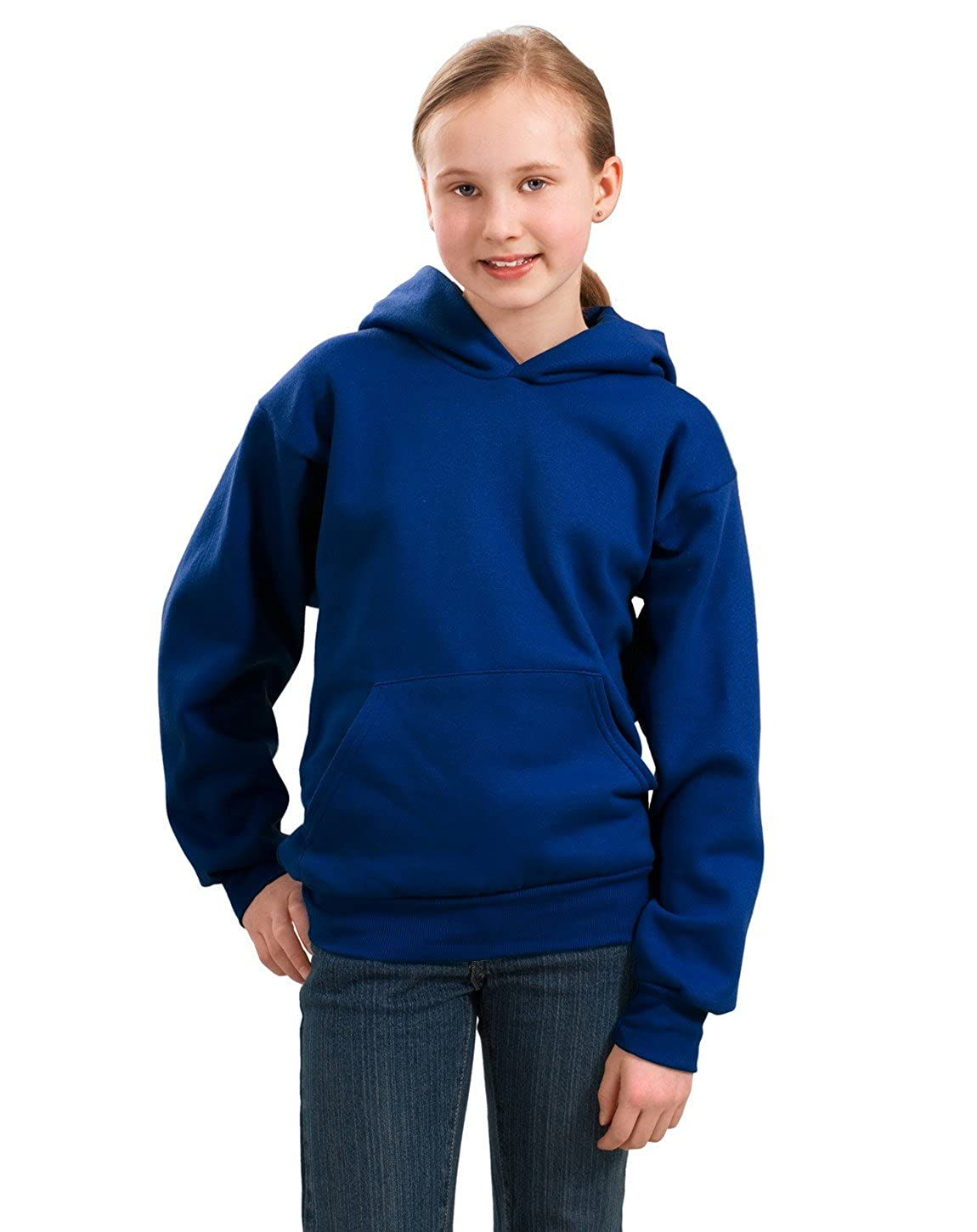 Royal Port /& Company PC90YH Youth Pullover Hooded Sweatshirt XS