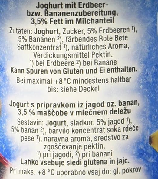 Danone Disney Frozen Joghurt Erdbeere/Banane, 500 g (4 x 125 g ...