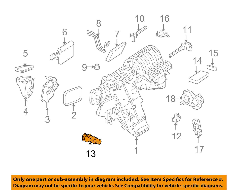 Mercedes-Benz 164 830 00 84 A//C Expansion Valve