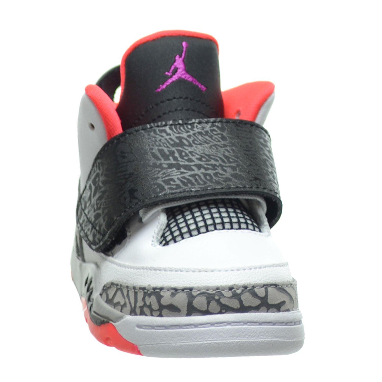 newest 48ee0 d058f Jordan Son Of Mars BT Toddlers Infants Shoes White Fuchsia Flash Black Wolf  Grey 512244-105 (8 M US)  Amazon.ca  Shoes   Handbags