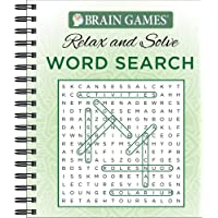 Brain Games® Relax and Solve: Word Search