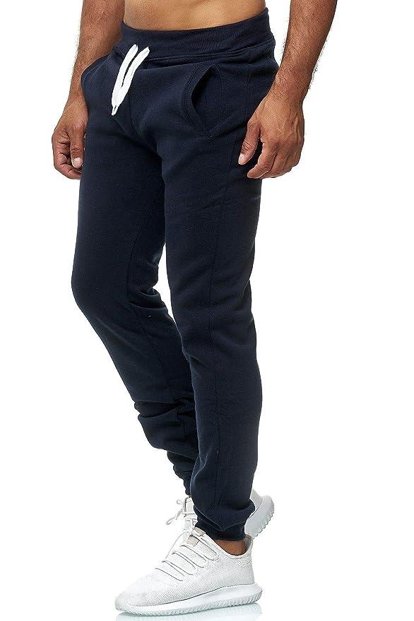 EGOMAXX Pantalón de chándal para Hombre Fit & Home Sweatpants para ...