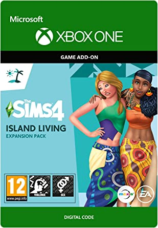 The Sims 4 Island Living Dlc Xbox One Download Code Amazon Co Uk Pc Video Games