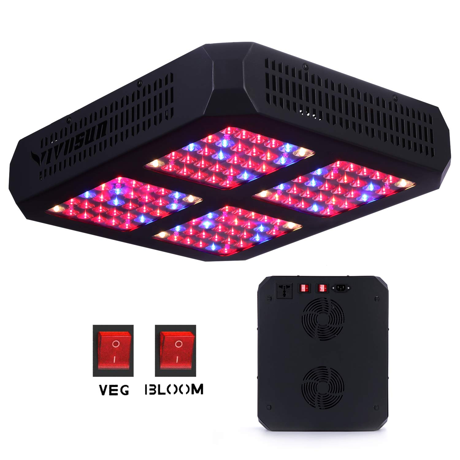 Vivosun 600 Watts Led Grow Light For Indoor Marijuana