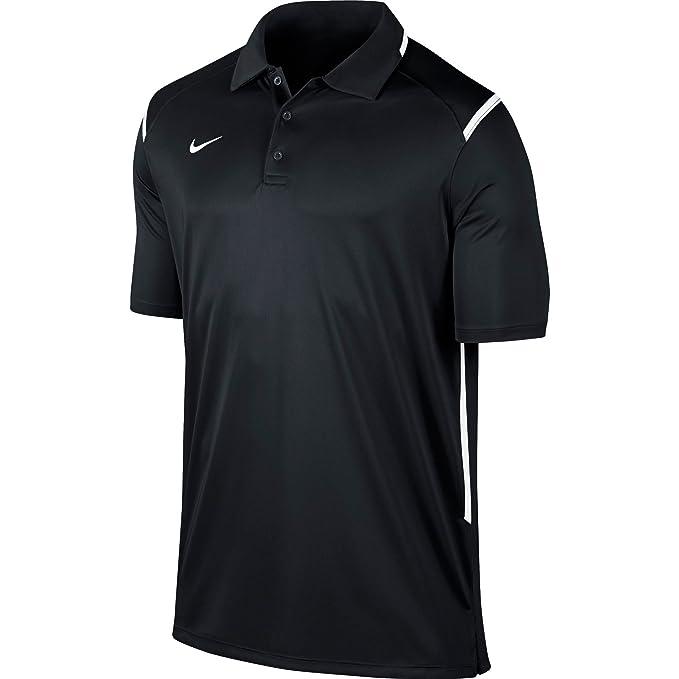 Nike Men's Team Game Day Polo Shirt (Size Medium) Black/White 706710 012