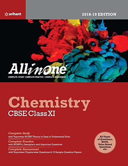 All in One CHEMISTRY Class 11th Arihant Latest Edition