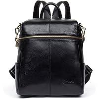 BOSTANTEN Geniune Leather Fashion Backpack Purse Casual School Bags for Women