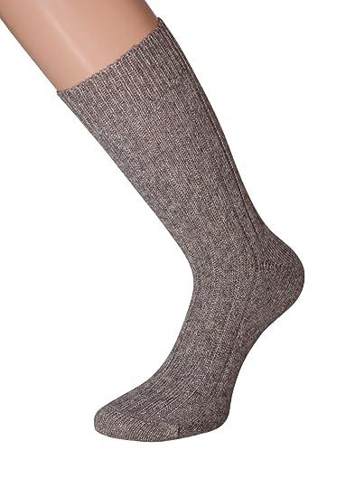 Calcetines de lana de lana con seda Hombre Calcetines de lana suave y cálido 39 - 42 43 - 46, 2 par Negro 1 Pair beige Test: Amazon.es: Ropa y accesorios