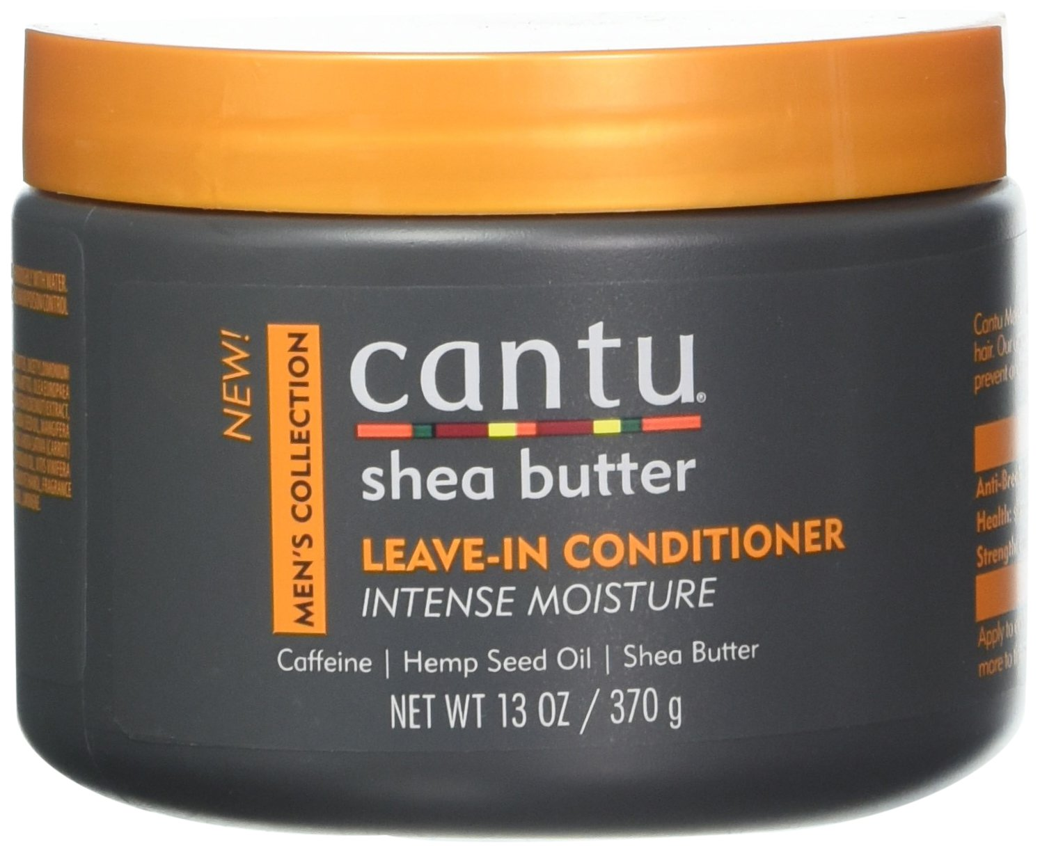 Cantu Shea Butter Men's Collection Leave in Conditioner, 13 oz. Dr. Teals 07677-12/3PK