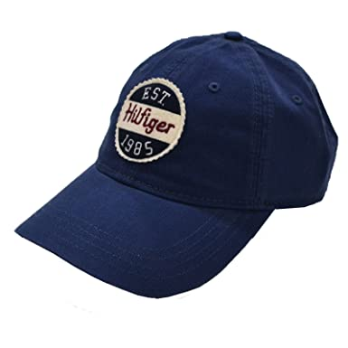 tommy hilfiger baseball cap with patch blue at amazon men s