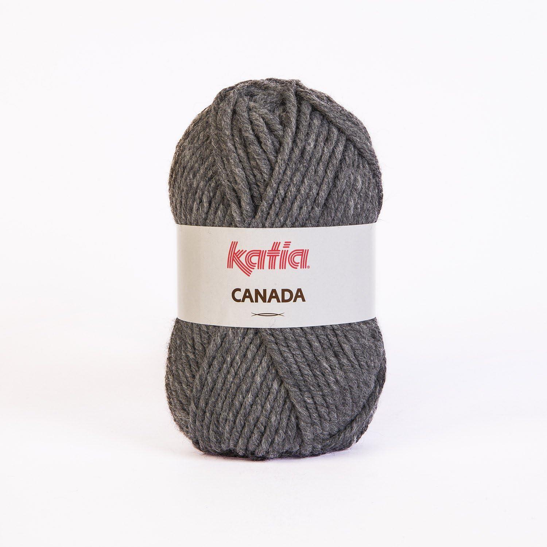 - 100 g // ca MARRÓN CANADA von Katia 37 75 m Wolle