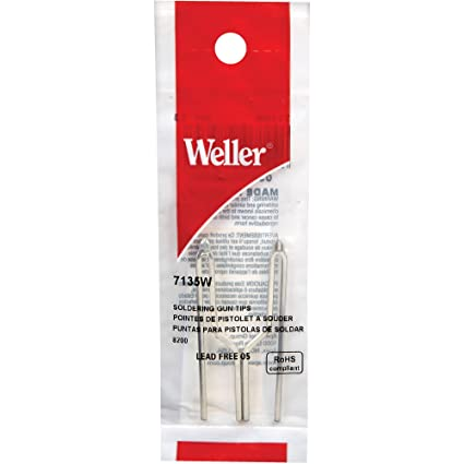 7135W Tip - Weller Soldering Tips - Replacement for 8200 & 8200PK Soldering Guns - - Amazon.com