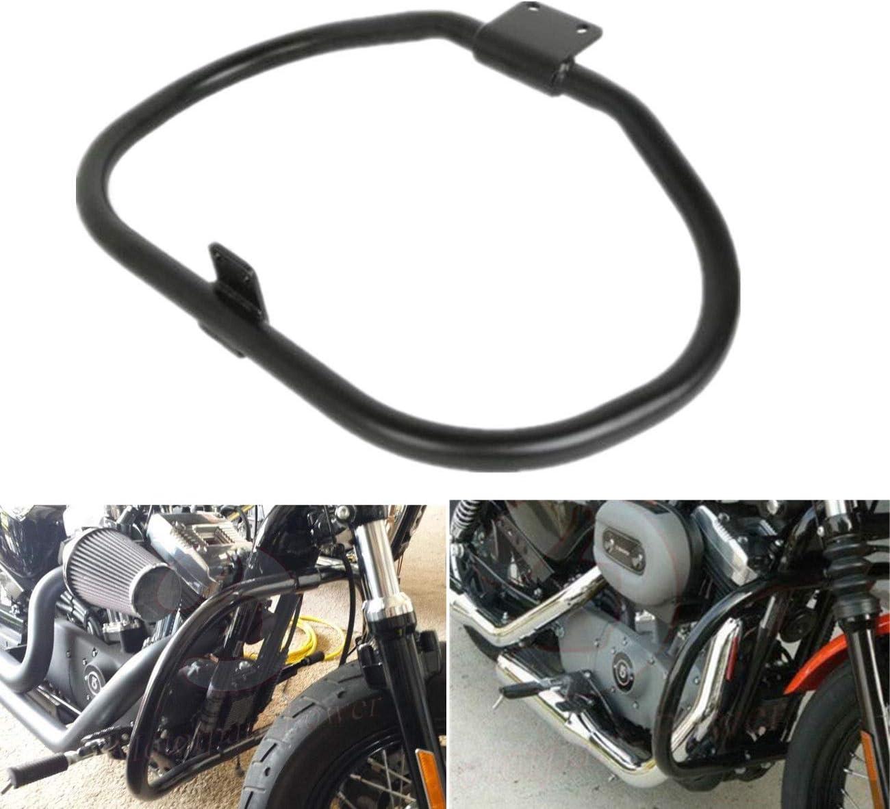 For Harley Iron 883 XL883N XL1200N XL1200L 48 XL1200X Sportster Crash Safety Bars Protection Artudatech Highway Rail Engine Guard